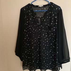 !!!NEW!!! BNWOT maurices Sheer Dress Top